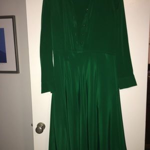 Emerald green Marc Jacobs dress